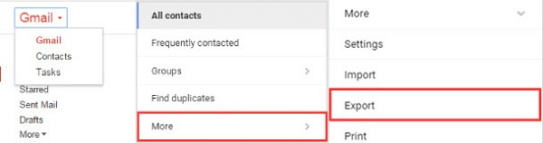 Import Gmail Contacts to Android Phone
