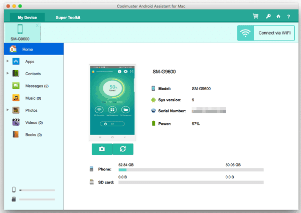 sync android to macbook by android to mac transfer