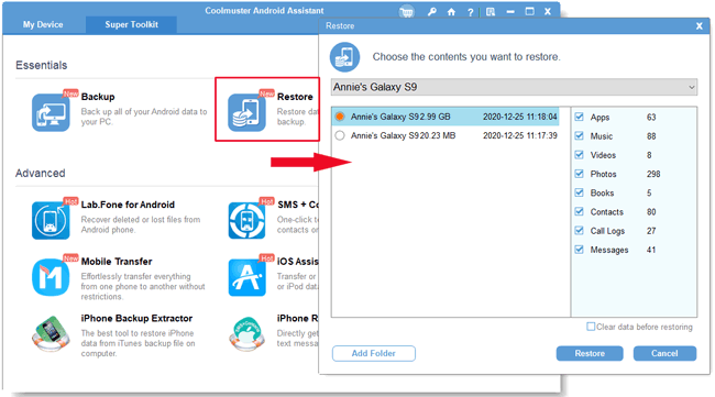 wireless file transfer from android to pc