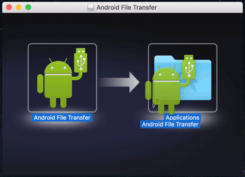 send music from android to mac with android file transfer