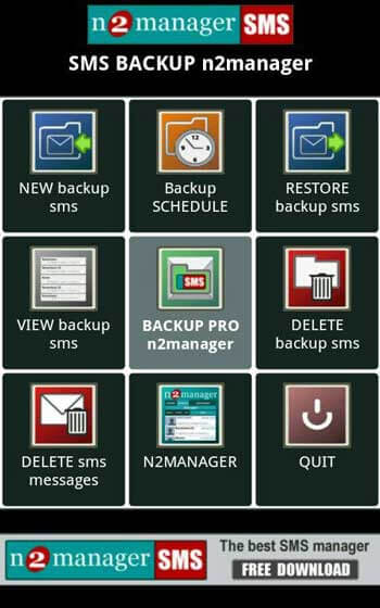 android sms manager app -sms manager