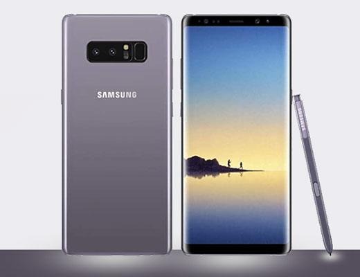 how to back up note 8