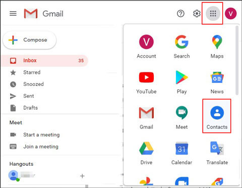 back up samsung galaxy s5 contacts to gmail