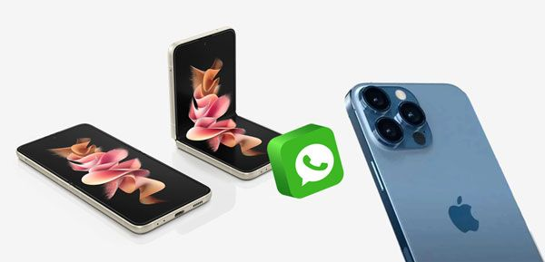 back up whatsapp from samsung to iphone
