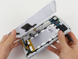 clean or change the lcd connector for fixing a white screen on a phone