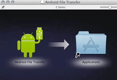 copy photos from android to mac with android file transfer