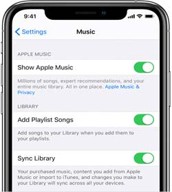 share music from iphone to iphone with apple music
