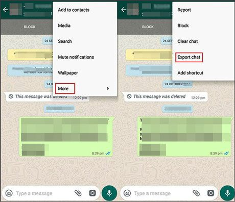 transfer android whatsapp to mac using email