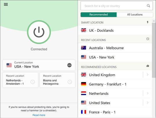 change location on huawei phone via a vpn app