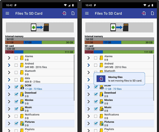 backup your phone to your sd card with the files to sd card app