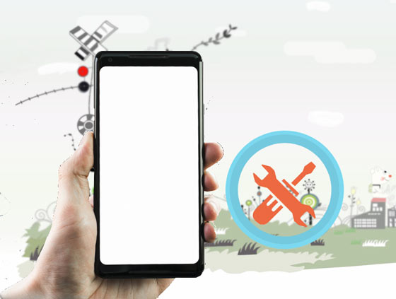how to fix white screen on android phone
