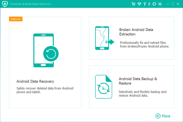 recover data with the data recovery software for android