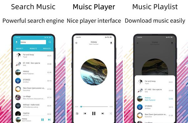 add music to the lg phone with free music downloader