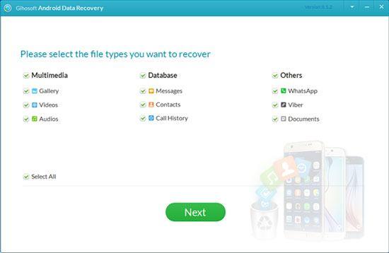 gihosoft motorola recovery software