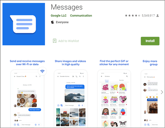 avoid missing text messages android via another messages app