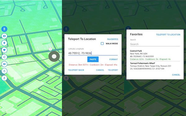 set a mock location on huawei p20 pro via gps joystick