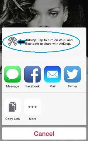 copy photos from iphone to ipad using airdrop