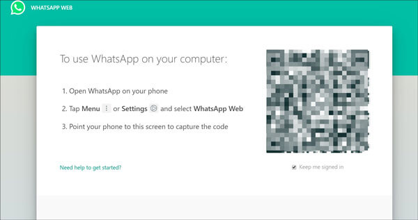 how to backup whatsapp to computer online