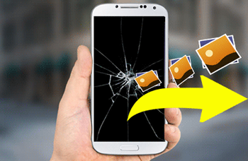 how to get pictures off a broken phone