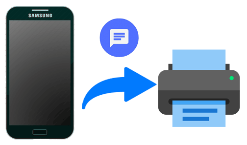 How to Print Text Messages from Samsung Galaxy [3 Methods]