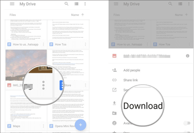how to move music from iphone to android via google drive