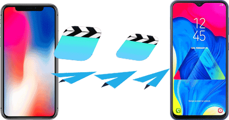 how to send video from iphone to android