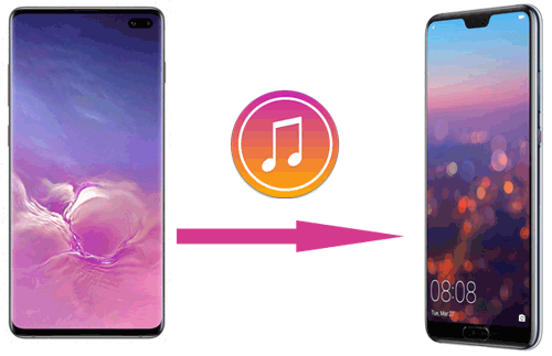 how to transfer music from android to android