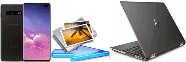 how to transfer photos from android to laptop
