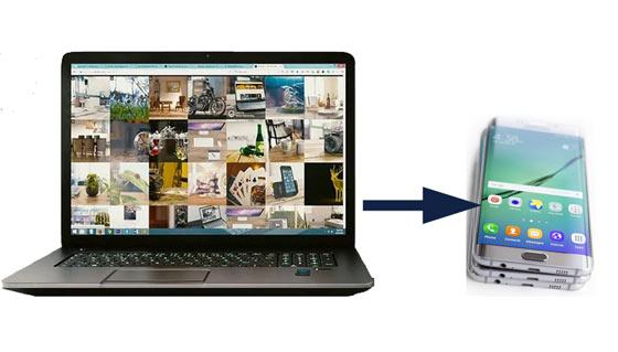 how to transfer photos from computer to android