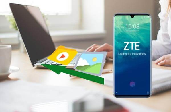 how to transfer photos from zte phone to computer