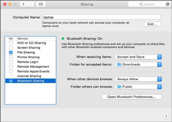 how to transfer videos from android phone to mac using bluetooth