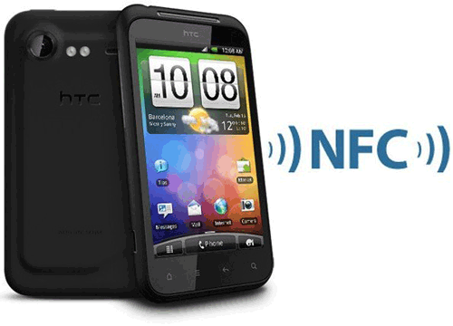 htc transfers files by nfc