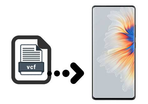 import vcf to android