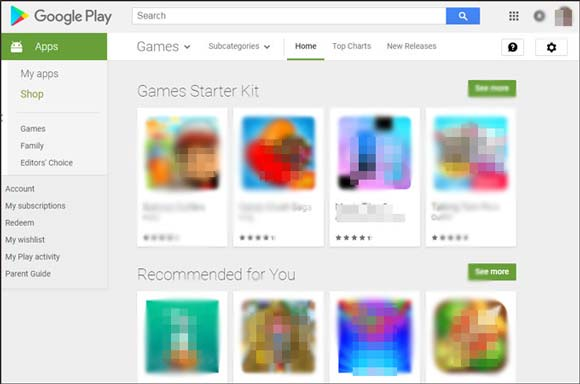 how to install android apps from pc via google play