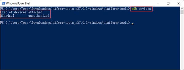 install an app on android from pc with adb tool
