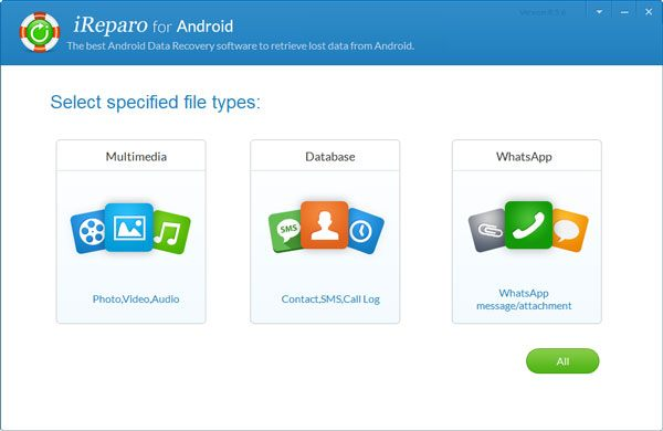 launch jihosoft android data recovery software
