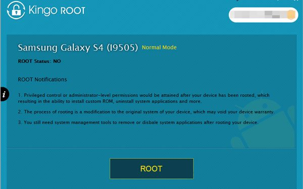 a program to root the android tablet