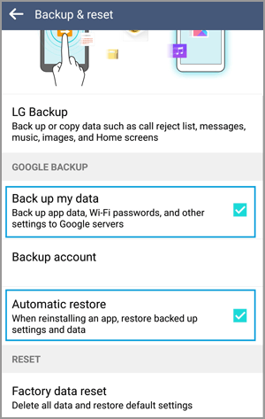 how to recover deleted audio files from android phone via google account