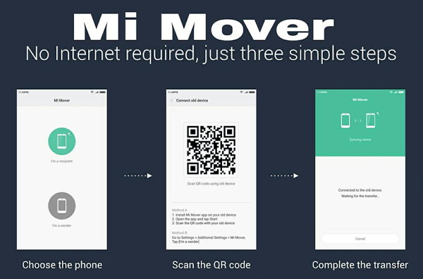 xiaomi files transfer with mi mover