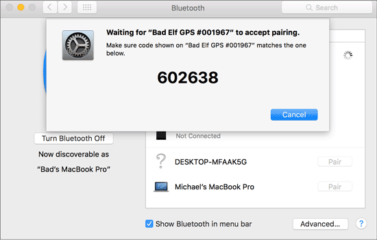 transfer videos from android to macbook via bluetooth