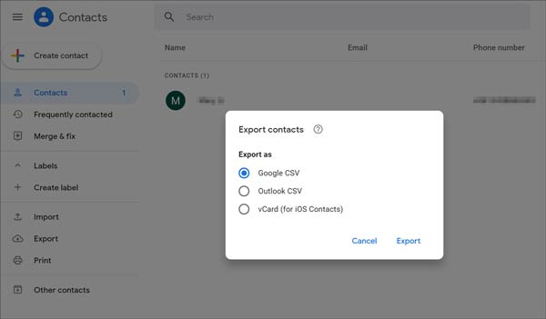 recover deleted contacts from sim card with gmail