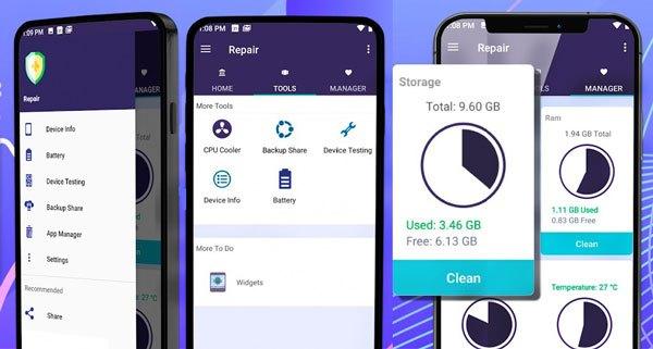 android phone repair application