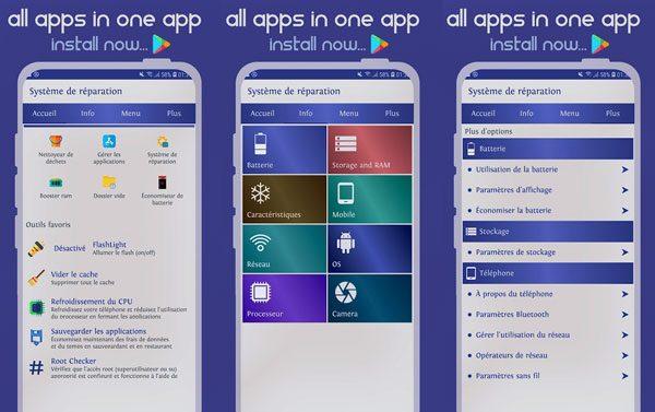 a useful android phone repair app