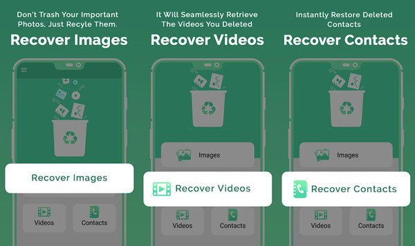 restore deleted documents on android