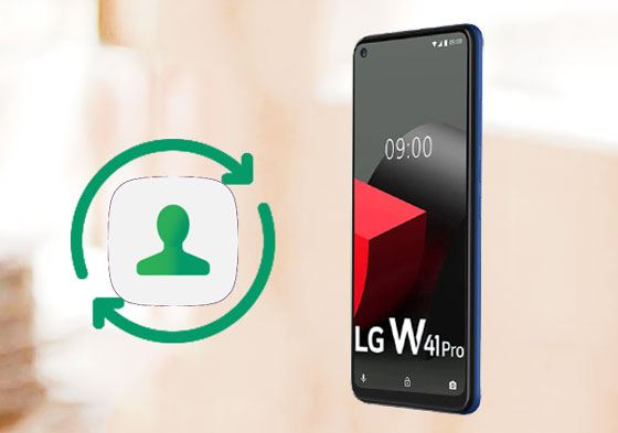 retrieve contacts from lg phone