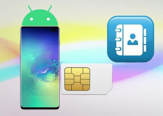retrieve contacts from sim card