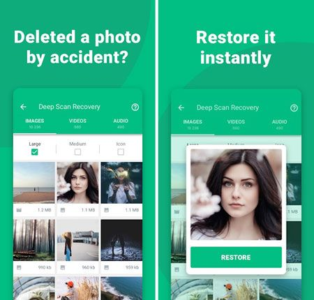 effective android video recovery app