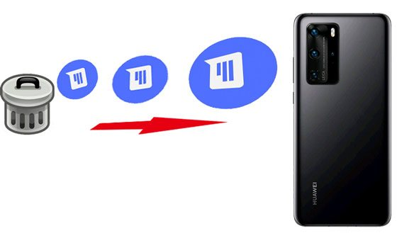 how to retrieve deleted messages on huawei phone