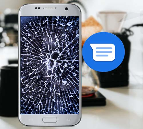 how to retrieve text messages from a broken phone