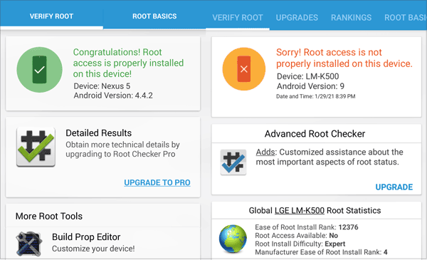 make sure if your phone is rooted via root checker